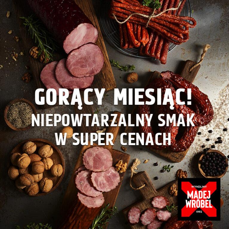 Wybierz niepowtarzalny smak w SUPER CENACH. Zapowiada się gorący miesiąc!